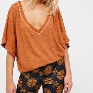 Free people over sized T-shirt
